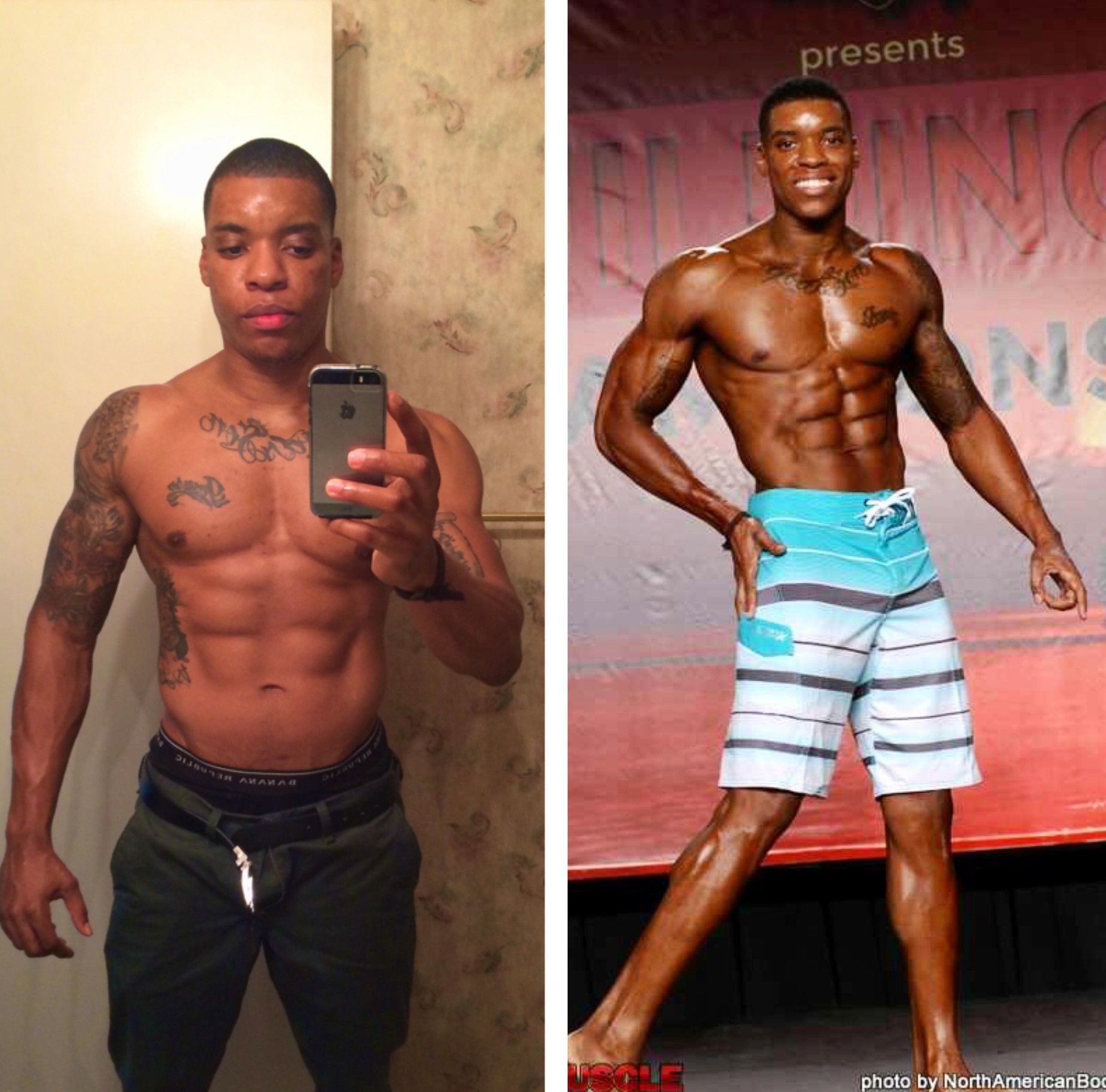 The Men's Physique 8 Week Training Camp Transformation